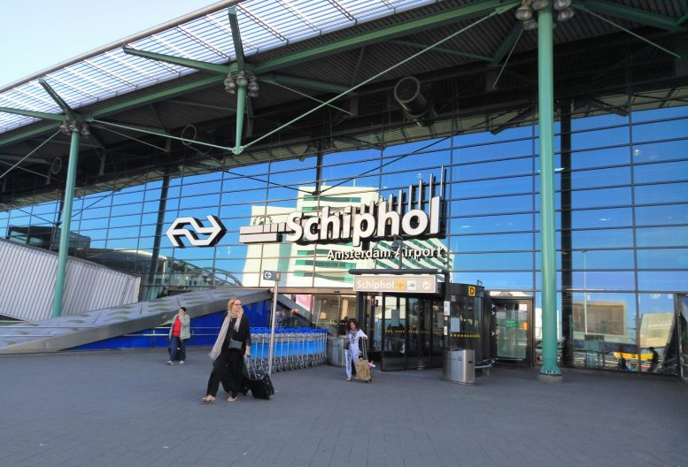 schiphol airport taxi taxibus